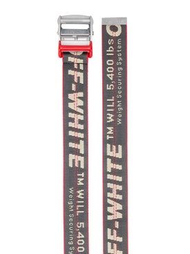 Off-white - Grey And Red Industrial Belt - Men