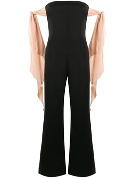 Esteban Cortazar - Ribbon Detail Jumpsuit - Women