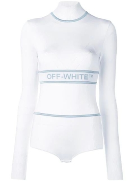 athletic logo bodysuit