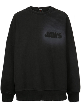 JAWS sweatshirt BLACK