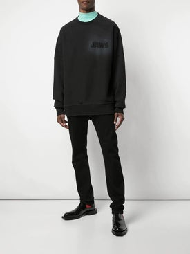 Calvin Klein 205w39nyc - Jaws Sweatshirt Black - Sweatshirts