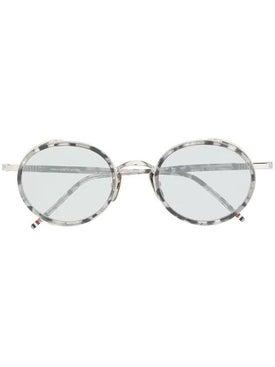 Thom Browne - Thom Browne X Dita Round Tortoishell Sunglasses - Women