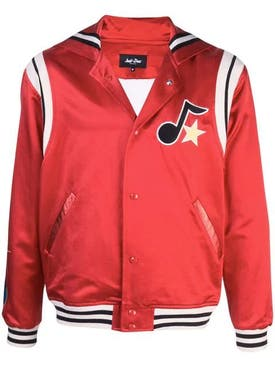 Just Don - Silk Cape Varsity Jacket - Men