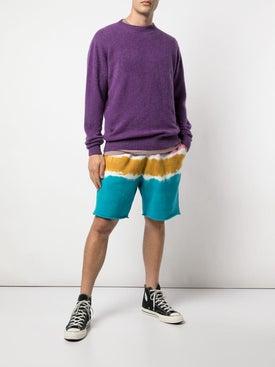 The Elder Statesman - Knit Crew Neck Sweater - Sweaters & Knitwear