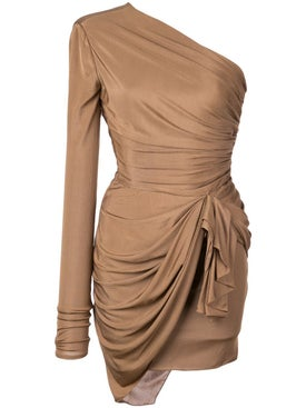 Alexandre Vauthier - Draped One Shoulder Dress - Women