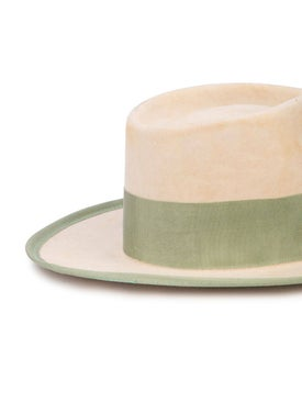 Nick Fouquet - Woven Wide-brim Hat Neutral - Fedora