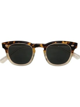 Mr. Leight - Hanalei Demi Tortoise Sunglasses - Sunglasses