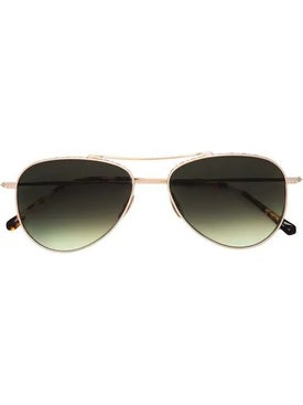 Mr. Leight - Tortoise Aviator Sunglasses - Women