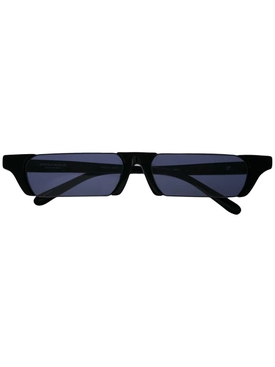 Linda Farrow x Marcelo Burlon rectangular lens sunglasses