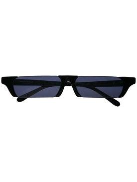 Linda Farrow - Linda Farrow X Marcelo Burlon Rectangular Lens Sunglasses - Men
