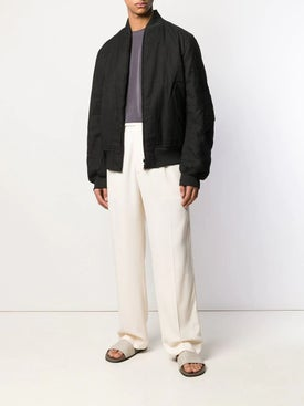 Haider Ackermann - Off-white Wide Leg Trousers - Men
