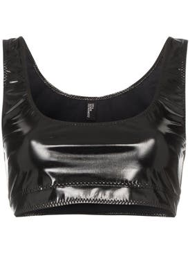 Lisa Marie Fernandez - Zani Pvc Crop Top - Women