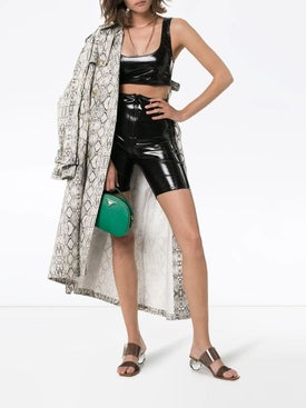 Lisa Marie Fernandez - Zani Pvc Crop Top - Women