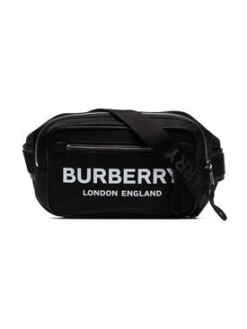 Burberry - Logo Print Belt Bag Black - Women