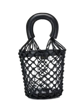 Staud - Pvc Moreau Netted Bucket Bag - Women