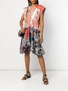 Chloé - Paisley Print Panelled Dress - Women