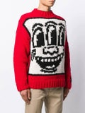 Etudes - Études X Keith Haring Intarsia Knit Sweater - Men