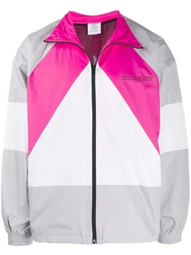Mustermann color-block jacket PINK