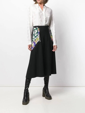 Horse print blouse