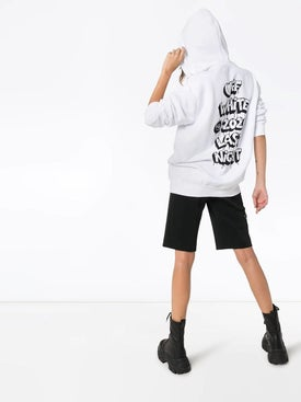 Off-white - Dripping Heart Logo Hoodie White - Women