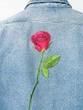 Balenciaga - Rose Embroidered Shirt - Men