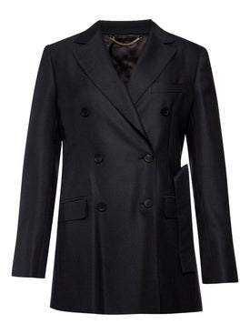 Salvatore Ferragamo - Black Structured Blazer - Women