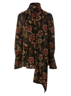 Salvatore Ferragamo - Floral Silk Blouse - Women