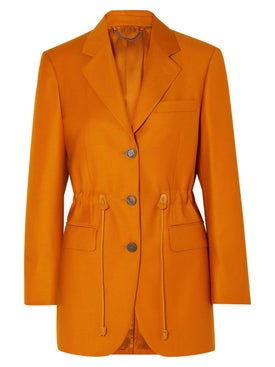 Salvatore Ferragamo - Orange Blazer - Women