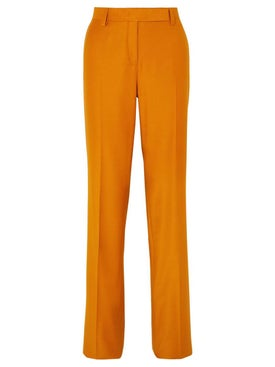 Salvatore Ferragamo - Orange Tailored Pant - Women