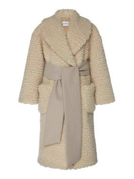 Salvatore Ferragamo - Fleece Cashmere-blend Coat - Women