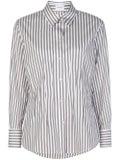 Salvatore Ferragamo - Pinstripe Buttoned Shirt - Women