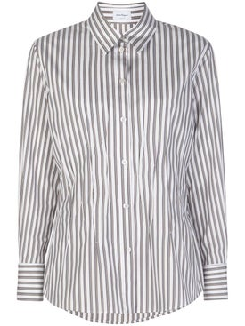 Salvatore Ferragamo - Pinstripe Buttoned Shirt - Women