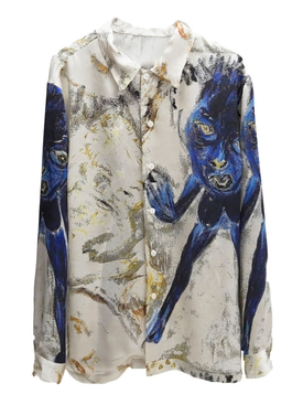 DON VAN VLEET SILK SHIRT