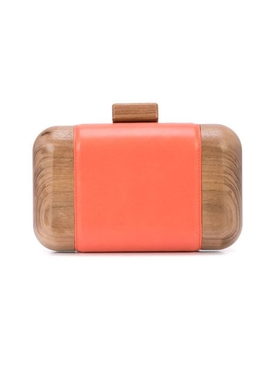 Juliette clutch bag ORANGE
