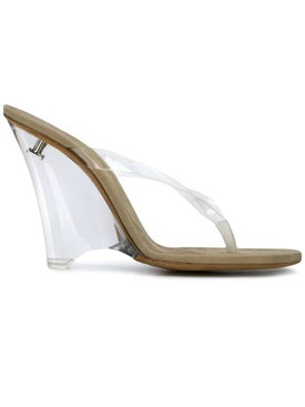 Yeezy - Wedge Thong Sandal Clear - High Sandals