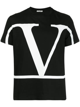 Valentino - Vlogo T-shirt Black - Men
