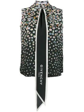 Givenchy - Floral Oversized Tie Shirt - Women