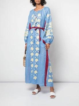 Vita Kin - Belted Kaftan Dress - Mid-length
