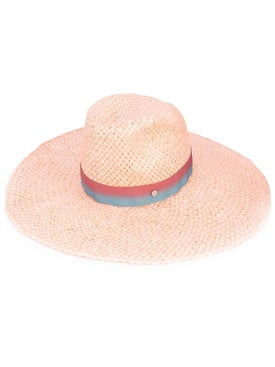Maison Michel - Ribbon Hat Neutral - Women