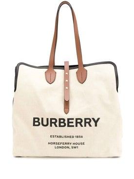 Burberry - Logo Tote Bag - Women