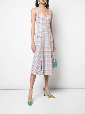 Anya rainbow gingham dress MULTICOLOR