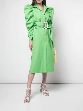 Silvia Tcherassi - Voluminous Sleeve Belted Dress - Women