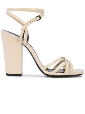 Saint Laurent - Crisscross Strap Sandals - Women