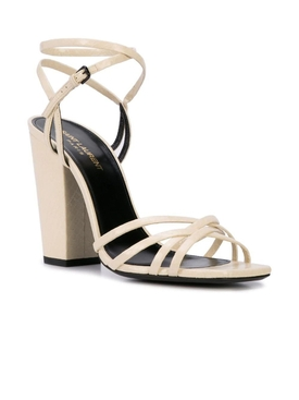 crisscross strap sandals