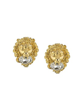 Gucci - Lion Head Earrings - Women