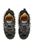 Gucci - Black Embellished Flasktrek Sneakers - Men