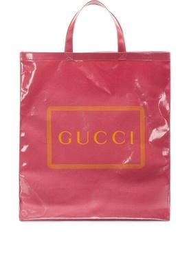 medium coated Gucci tote PINK