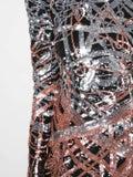 Balmain - Sequinned Mini Dress - Women