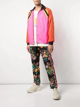 floral print track pants MULTICOLOR
