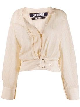 Jacquemus - Belted Waist Shirt - Long Sleeved